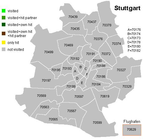 stuttgart plz karte Stuttgart Plz Karte | hanzeontwerpfabriek stuttgart plz karte